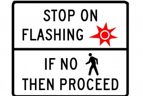 PHB Flashing Red Sign