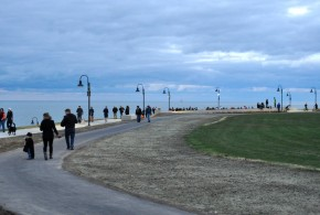 Hundreds turned out for the grand opening of Lakewood's Solstice Steps at Lakewood Park on Friday, Oct. 30.  The city of Lakewood hosted the special event to celebrate the new the $2 million project that reinvents Lakewood's access to Lake Erie.