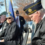 Jim Kilbane joined dozens of other veterans and hundreds of visitors to Lakewood Park for the annual Veterans Day Ceremony.