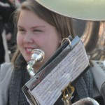 The Lakewood High School Marching band participated in the Veterans Day Ceremony at Lakewood Park on Wednesday.