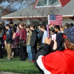 Other highlights of this year's program included performances by the Lakewood High School Band, The Four Vet Quartet and a 21-gun salute by the Joint Veterans Honor Guard.