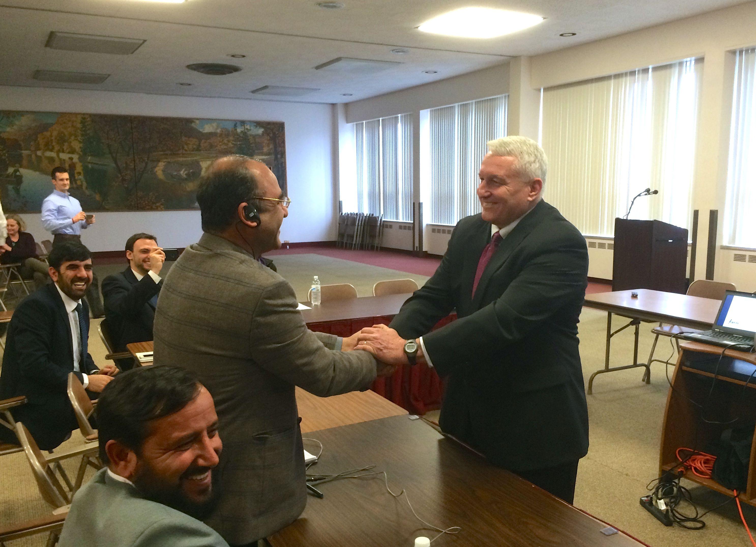 Afghan Delegation