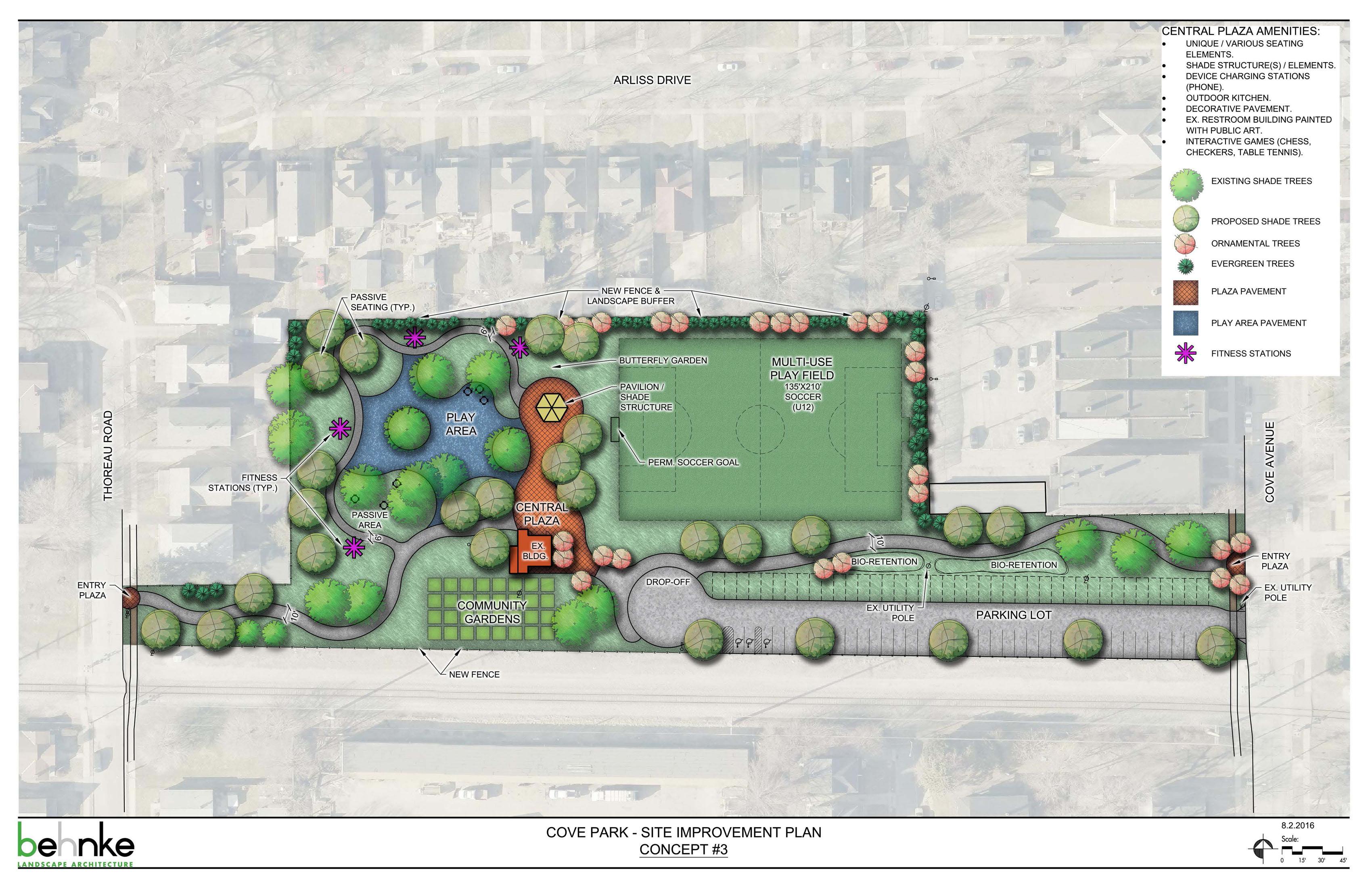Cove Park Concept 3