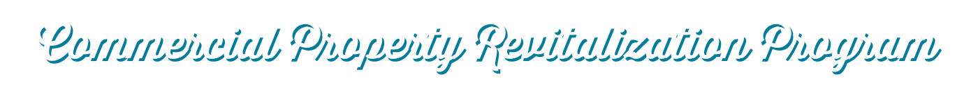Commercial Property Revitalization Program