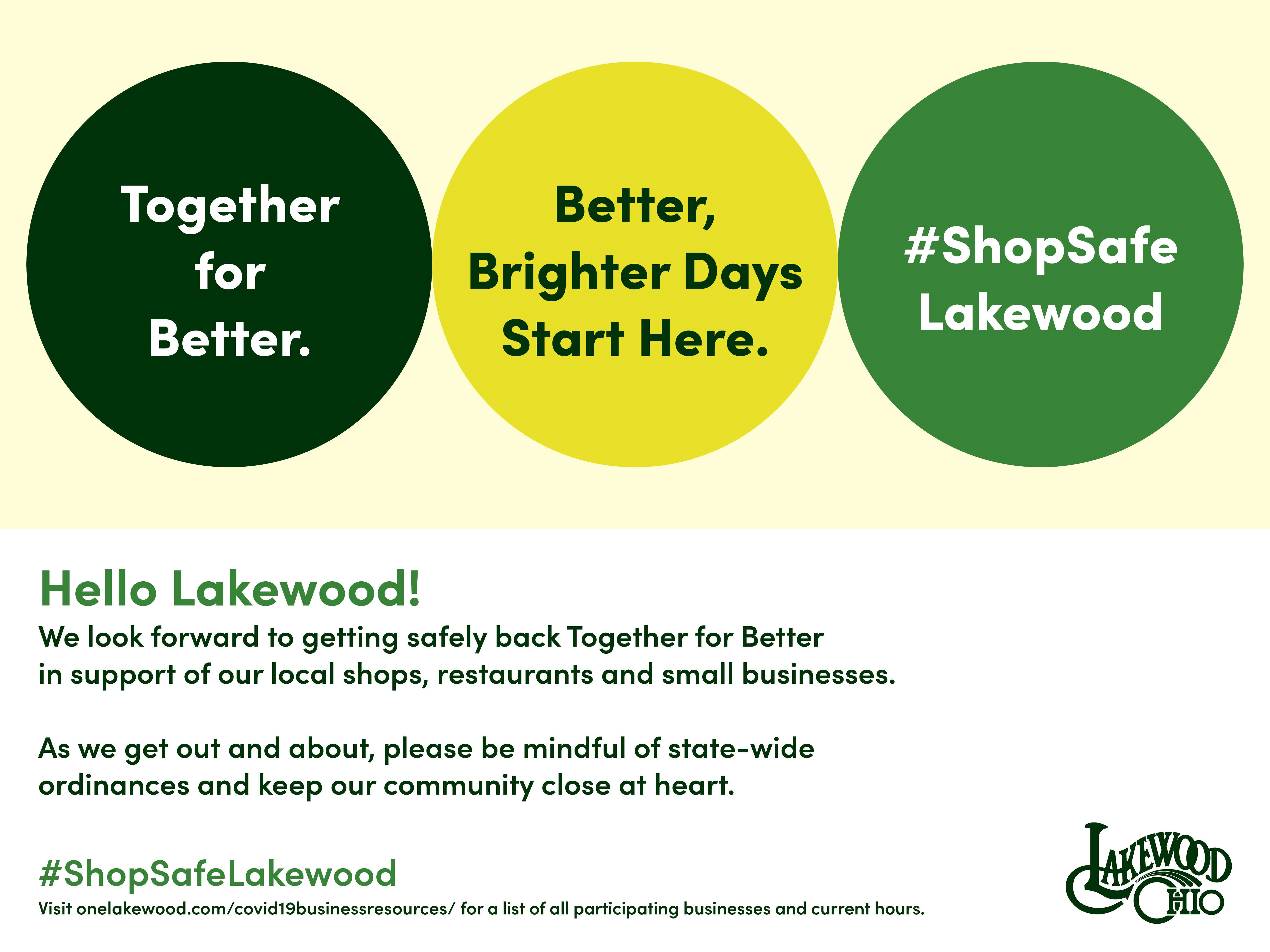 Covid 19 Resources For Lakewood Businesses The City Of Lakewood Ohio